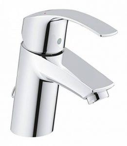 33188002 GROHE Eurosmart Robinet pour lavabo avec chaînette rétractable à bouchon de trou de la marque GROHE image 0 produit