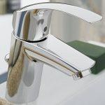 33188002 GROHE Eurosmart Robinet pour lavabo avec chaînette rétractable à bouchon de trou de la marque GROHE image 3 produit