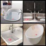 ��Bacox®️�� Bonde de lavabo, évier, baignoire, bidet, douche. Bouchon de baignoire, evier, cuisine, douche. (Bleu) de la marque Bacox image 2 produit