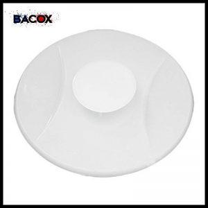 ��Bacox®️�� Bonde lavabo, bonde evier, bonde baignoire. Bouchon de baignoire, bouchon de lavabo, bouchon evier. (Blanc) de la marque Bacox image 0 produit