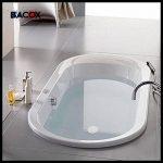 ��Bacox®️�� Bonde lavabo, bonde evier, bonde baignoire. Bouchon de baignoire, bouchon de lavabo, bouchon evier. (Blanc) de la marque Bacox image 4 produit