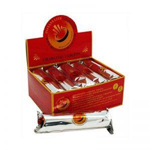 6x charbon à narguilé / shisha allumage rapide 33mm Belgian Charcoal de la marque Belgian Charcoal image 0 produit
