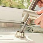 Aquasu 780223robinet d'évier Larina, robinet de cuisine umklapp Bar, montage sous une fenêtre, montage devant une fenêtre, mitigeur monocommande évier robinet chromé de la marque AquaSu image 3 produit