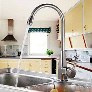 Auralum® Robinet De Cuisine Robinet lavabo chromé évier pour mitigeur de cuisine de la marque AuraLum image 0 produit