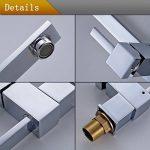 Auralum® Robinet Mitigeur Carré pour Cuisine Design Élégant en forme de « 7 » de la marque AuraLum image 4 produit