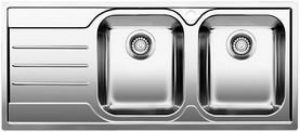 Blanc MEDIAN 8s-iF–Évier (acier inoxydable, 345x 400mm, 19cm, 116cm, 50cm, 19cm de la marque Blanco image 0 produit