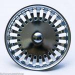 BLANCO 125555Bonde à panier avec commande pommes de pin pour ponceuse excentrique acier inoxydable, 8,2cm, 3,5pouces de la marque Blanco image 1 produit