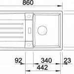 Blanco ClassicLexa 6 S Évier en Silgranit PuraDur, 514660 de la marque Blanco image 2 produit