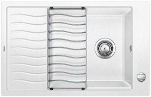 BLANCO ELON XL 6S, évier de cuisine évier de granit en SILGRANIT PuraDur, 1pièce, blanc, 518739 de la marque Blanco image 0 produit