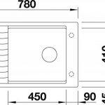 BLANCO ELON XL 6S, évier de cuisine évier de granit en SILGRANIT PuraDur, 1pièce, blanc, 518739 de la marque Blanco image 1 produit
