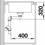 BLANCO ELON XL 6S, évier de cuisine évier de granit en SILGRANIT PuraDur, 1pièce, blanc, 518739 de la marque Blanco image 3 produit