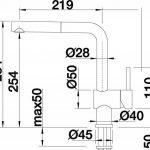 BLANCO Linus de s Vario Robinet de cuisine, surface métalliques, chrome, haute pression, 516688 de la marque Blanco image 3 produit