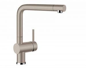 BLANCO Linus de s Vario Robinet de cuisine, surface métalliques, chrome, haute pression, marron, 517622 de la marque Blanco image 0 produit