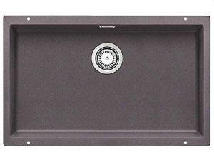 BLANCOSUBLINE 700-U évier encastrable sous plan, gris rocher, SILGRANIT®, pour des meubles sous évier de 80 cm - 518968 de la marque Blanco image 0 produit