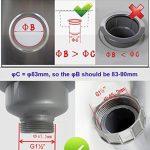 bonde évier 110 mm TOP 4 image 4 produit