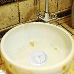 Btsky Lot de 215,2cm universel en caoutchouc de silicone–Bouchon de baignoire Bouchon de vidange Coque pour évier de cuisine salle de bain baignoire d'évacuation, Housse de voyage en caoutchouc de silicone Bouchon de vidange, Blanc de la marque BTSKY image 2 produit