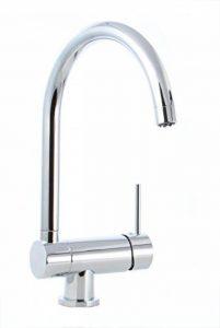 Cuisine robinets robinets à levier unique robinet mitigeur pour fenêtre d'installation sous-fenêtre Vorfestermontage cuisine Robinet de cuisine mitigeur fixe de la marque Grünblatt image 0 produit