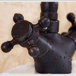 Cuivre noir antique continental antique bronze bassin robinet Générique art bassin pas cher toilette bassin double,A de la marque LE image 3 produit