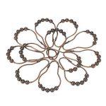 Decdeal 12pcs Antennes de Rideaux de Douche Crochets pour Robinet en Acier inoxydable Set Crochet à Anneau à Roulement à Billes de la marque Decdeal image 6 produit