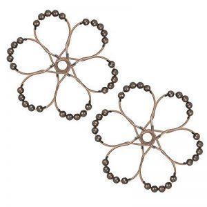 Decdeal 12pcs Antennes de Rideaux de Douche Crochets pour Robinet en Acier inoxydable Set Crochet à Anneau à Roulement à Billes de la marque Decdeal image 0 produit