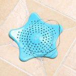 DS Styles 4pcs coloré étoile de salle de bain Cheveux Catcher évier de cuisine Passoire déchets Bouchon filtre Cheveux Bain Cheveux Sécurité pour enfant–4couleurs de la marque DSstyles image 3 produit