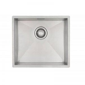 Evier de cuisine en inox Mizzo Design 40-40 Affleurant / Sous plan - Cuve inox de cuisine carré / évier acier inoxydable 40*40cm de la marque Mizzo Design ® image 0 produit