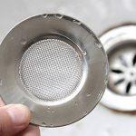 Filtres à évier en acier inoxydable Un ensemble de deux pieces (7.7 CM) de la marque LB trading image 4 produit