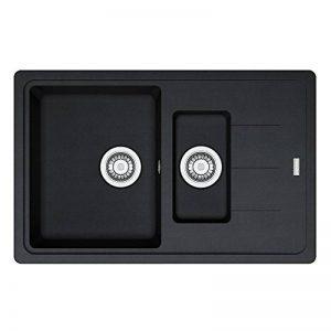 Franke 114.0283.991Fragranit évier de cuisine en granit avec simple et demi Bol à partir de EuroForm Base BFG 651–78, Onyx de la marque FRANKE image 0 produit