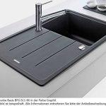 Franke bFG 611–86 basis évier en granit évier encastrable noir onyx-évier de cuisine de la marque Franke Kitchen Systems image 3 produit