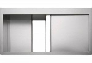 Franke - Franke Crystal Inox CLV214 - Verre blanc/inox de la marque FRANKE image 0 produit