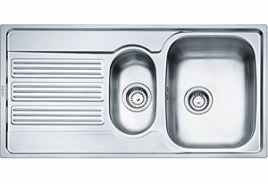 Franke Galileo – Kitchen sinks (Stainless Steel, Stainless Steel, 340 x 430 mm, 172 x 320 mm) de la marque Franke image 0 produit