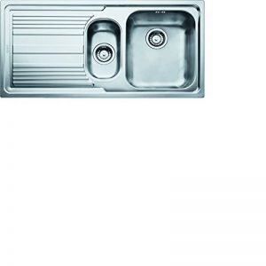 Franke Logica 101.0085.812droite inox Table/Cuisine Évier encastrable avec 1bac 1/2Soie Texture, llx651 de la marque FRANKE image 0 produit