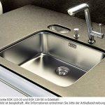 Franke évier sous plan Epos EOX 110-50 acier inox lisse, bonde à bouchon - 1220197991 de la marque Franke-Kitchen-Systems image 2 produit