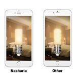 G9 3W Ampoules LED, Nasharia LED ampoule 35W équivalent, lampes LED blanches chaudes 3000K, 220-240V AC, sans scintillement, sans illumination, brillant, Angle de faisceau 360 °, 380Lm, RA> 80 de la marque Nasharia image 5 produit