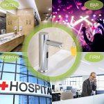 Gimify Capteur Automatique Robinet en Laiton et Chrome pour Lavabo de Cuisine ou Salle de bain Economie d'eau Froide Alimentation Batterie de la marque Gimify image 5 produit