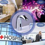 Gimify Capteur Automatique Robinet Mitigeur en Laiton et Chrome pour Lavabo de Cuisine ou Salle de bain Economie d'eau Chaude et Froide Alimentation Batterie de la marque Gimify image 5 produit
