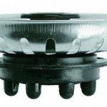 GRILLE FILTRÉ BOUCHON POUR ÉVIER UNIVERSEL TIPE TEKA (81 X 31 mm) (2 PCS) de la marque MONTSERRAT image 1 produit