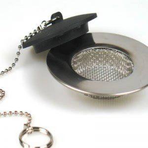 Grille Fine de Filtrage d'Evier Lavabo Filtre + Bouchon de la marque Générique image 0 produit