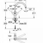 GROHE 31374000 - Mitigeur - Évier Start Loop de la marque GROHE image 2 produit