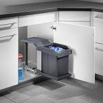 Hailo 3634101Collecteur de déchets MS Swing 40.1/20pour placards de 400mm de largeur avec porte pivotante de la marque Hailo image 3 produit