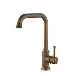 Hiendure® Mitigeur de cuisine rotatif robinet d'évier , vieux cuivre de la marque Hiendure image 0 produit