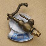 Hiendure® Mitigeur de cuisine rotatif robinet d'évier , vieux cuivre de la marque Hiendure image 3 produit