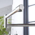 HUDSON REED Mitigeur Cuisine Pliable - Laiton Massif Chromé - Monotrou - Design Moderne de la marque HUDSON REED image 4 produit