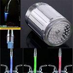 IPUIS LED Robinet Lumière Faucet Lumière Embout Robinet d'eau évier Lavabo Sonde Température de la marque ipuis image 4 produit