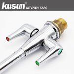 Kusun ® Moderne Chrome Pivotant Bec évier De Cuisine Robinet De Mélangeur Robinet Monobloc KT073C de la marque Kusun image 3 produit