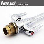 Kusun ® Moderne Chrome Pivotant Bec évier De Cuisine Robinet De Mélangeur Robinet Monobloc KT073C de la marque Kusun image 4 produit