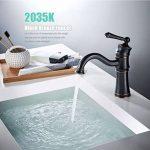Nouveau robinet noir noir Bronze artisanat rétro robinet bassin de dessin de la marque XIAOQI image 1 produit