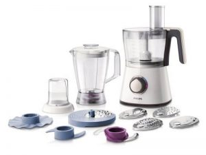 Philips HR7761/00 Robot Viva Collection Blanc 750 W Bol + Blender + Hachoir de la marque Philips image 0 produit