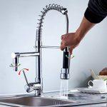 Réduction pour Prime Day: Auralum® Mitigeur évier Eurostyle Robinet de cuisine avec robinet douchette et mitigeur de la marque AuraLum image 1 produit