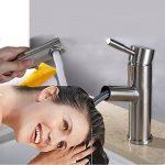 Robinet Cuisine Pull-Out Douchette Acier inox 304 avec tuyau 2 pièces pour salle de bains de la marque S-Chanson image 3 produit